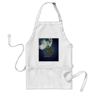 Cute Alien Reservation Style 1 Adult Apron