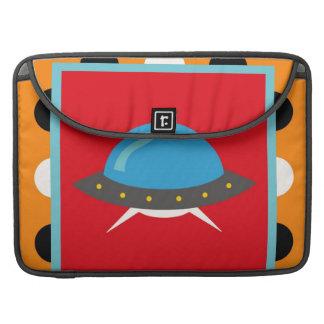 Cute Alien UFO Space Ship Unique Kids Gifts MacBook Pro Sleeves