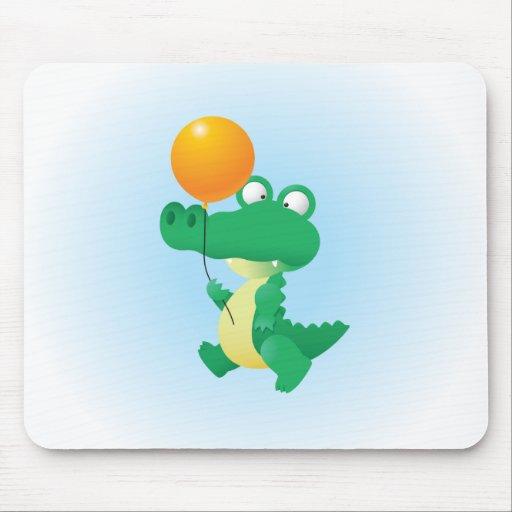 Cute Aligator Mousepad
