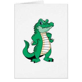 Cute Alligator  Card
