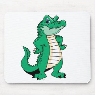 Cute Alligator  Mouse Pad