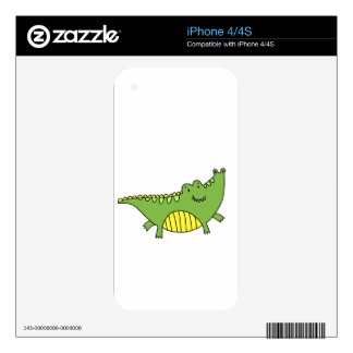 CUTE ALLIGATOR SKIN FOR THE iPhone 4