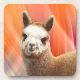 Cute Alpaca Coasters