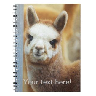 Cute Alpaca Notebook