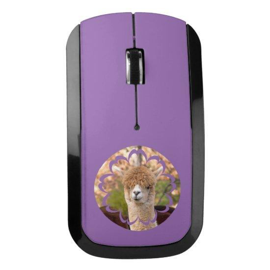 Cute Alpaca Wireless Mouse