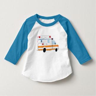Cute Ambulance Toddler 3/4 Sleeve T-Shirt