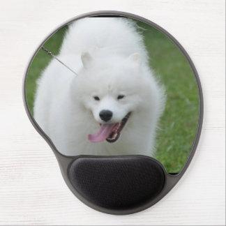Cute American Eskimo Dog Gel Mousepads
