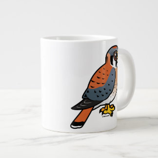 Cute American Kestrel Large Coffee Mug