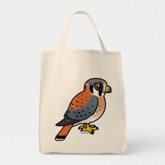 Cute American Kestrel Tote Bag