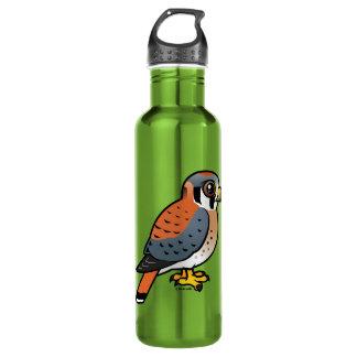 Cute American Kestrel Water Bottle