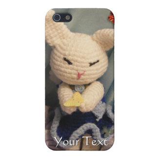 Cute Amigurumi Bunny Rabbit Cover For iPhone SE/5/5s
