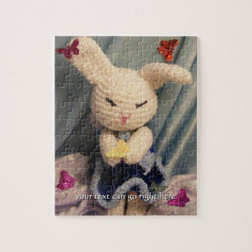 Cute Amigurumi Bunny Rabbit Puzzle