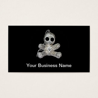 Cute Amigurumi Voodoo Doll Business Card