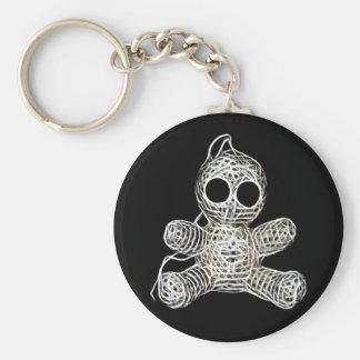 Cute Amigurumi Voodoo Doll Keychain