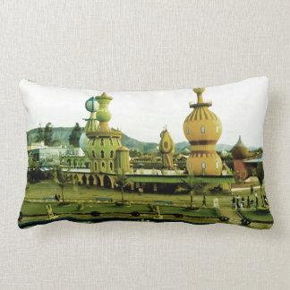 Cute amusement Park Throw Pillow