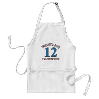 Cute and 12 years adult apron