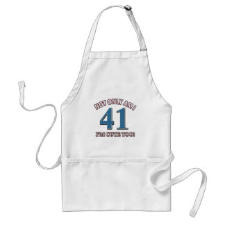 cute and 41 adult apron