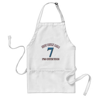 Cute and 7 years adult apron