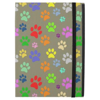 "Cute and Beautiful Colorful Pet Paw Pattern iPad Pro 12.9"" Case"