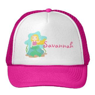 Cute and Beautiful Mermaid, for Girls Trucker Hat