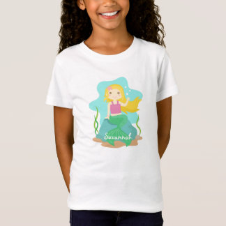 Cute and Beautiful Mermaid from Under the Sea T-Shirt