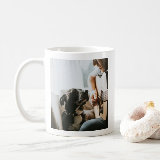 Cute and Charming Dog Lover's Photo Mug