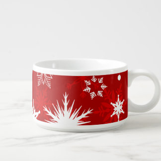Cute and Christmasy | Snowflake design Bowl