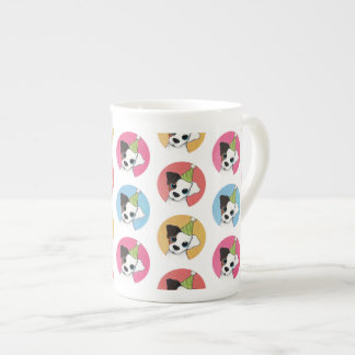 Cute and Colorful Birthday Jack Russell Pattern Tea Cup