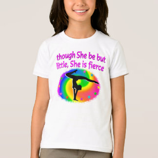 CUTE AND COLORFUL GYMNASTICS GIRL DESIGN T-Shirt