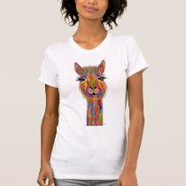 Cute and Colorful Llama T-Shirt