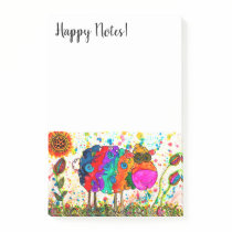 Cute and Colorful Sheep Post-it Notes