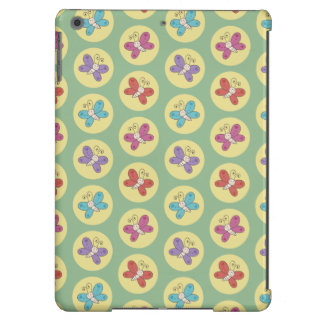 Cute and Colorful Whimsical Butterflies Pattern iPad Air Cover