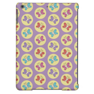 Cute and Colorful Whimsical Butterflies Pattern iPad Air Covers