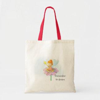 Cute and Colourful Fairy Tote Bag