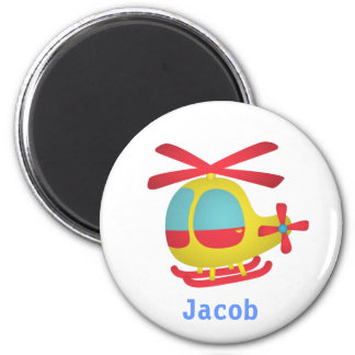 Cute and Colourful Helicopter for Kids Magnet