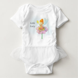 Cute and colourful Magical Fairy For Baby Girls Baby Bodysuit