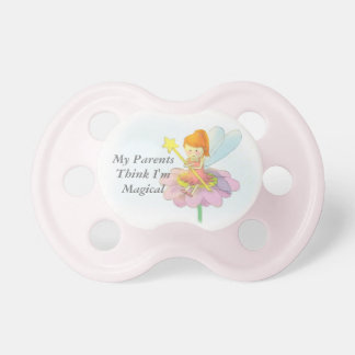 Cute and colourful Magical Fairy Baby Pacifier