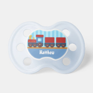 Cute and Colourful Train for Newborn Baby Boy Pacifier