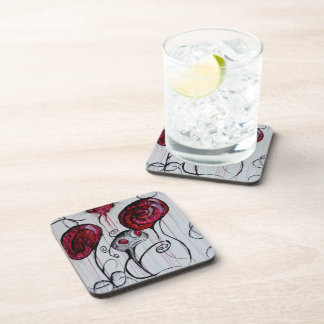 Cute and Creepy Creature Original Art Coaster Set