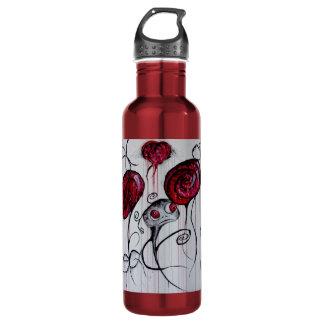 Cute and Creepy Creature Original Art Water Bottle