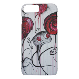 Cute and Creepy Creature Whimsical Goth Horror Art iPhone 8 Plus/7 Plus Case