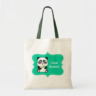 Cute and Cuddly Baby Panda Tote Bag