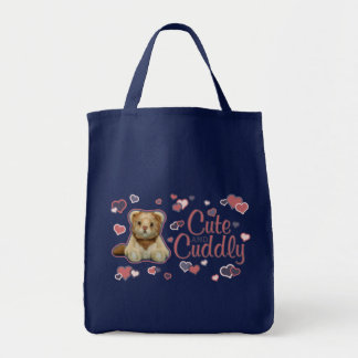 Cute and Cuddly Lion Tote Bag