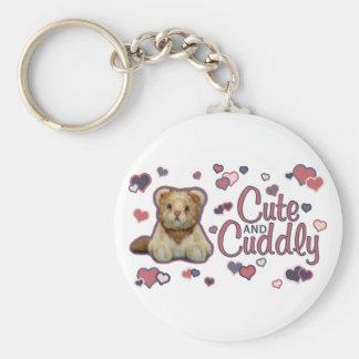 Cute and Cuddly Lion Keychain