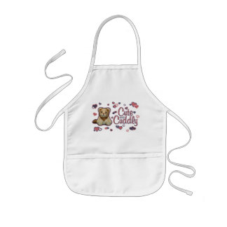 Cute and Cuddly Lion Kids' Apron