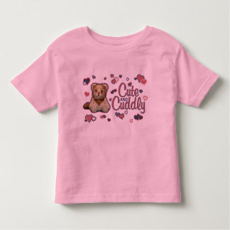 Cute and Cuddly Lion Toddler T-shirt