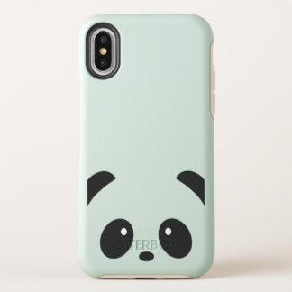 Cute and Cuddly Panda iPhone X Phone Case