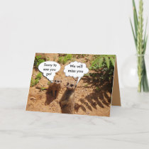 Cute and customizable card