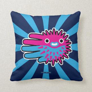 Cute And Dangerous Puffer Fish Pillow
