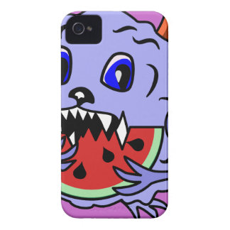 Cute and Fluffy Toothy Monster Mate IPhone4Case Case-Mate iPhone 4 Case